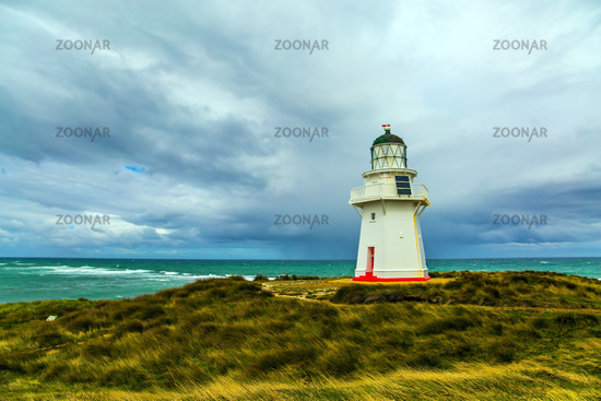 Great white lighthouse Waipapa