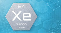 Chemical element of the periodic table - Xenon