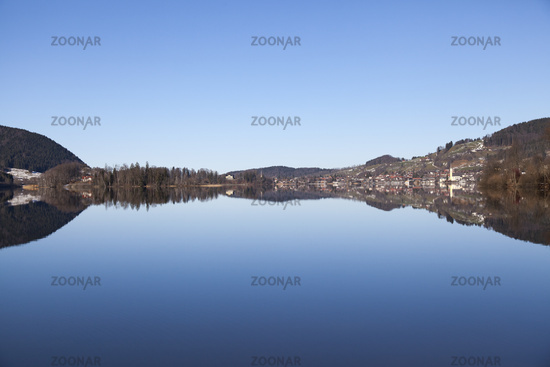 Schliersee Lake in Bavaria, Germany