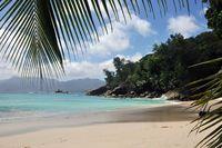 Anse Soleil beach on Mahe Island, Seychelles