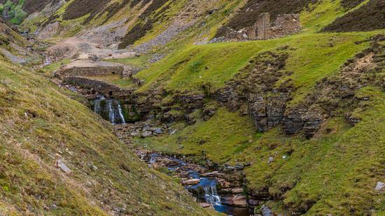 Blakethwaite Force and Mine, North Yorkshire, England