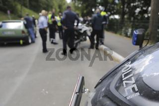 Symbolbild, Symbolfoto, Polizeikontrolle