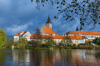 Telc castle in Czech Republic
