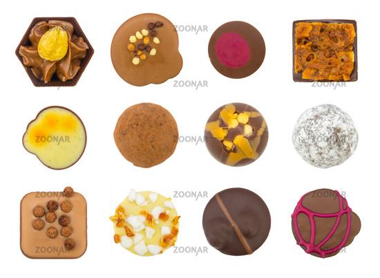 Assortment Of Luxury Chocolates
