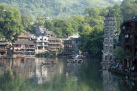 Daily life in historic Fenghuang
