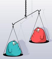 Fat Scales Cartoon
