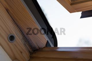 Schimmelbildung bei Dachfenster