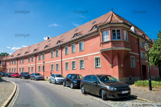 Naumburg, Germany - 06/18/2019 - historic building in the old town