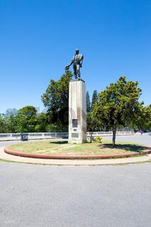 Argentina Cordoba Jose Artigas statue in Sarmiento park