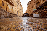 Jaisalmer Fort is situated in the city of Jaisalmer, in the Indian state of Rajasthan. It is believed to be one of the very few living forts in the world.