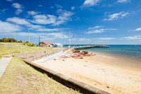 Cowes Foreshore on Philip Island in Australia