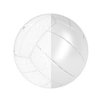 3D model of volleyball ball