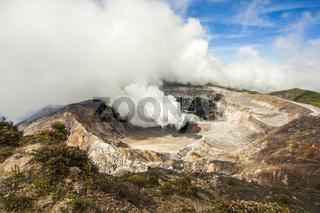 Vulkan Poas Costa Rica
