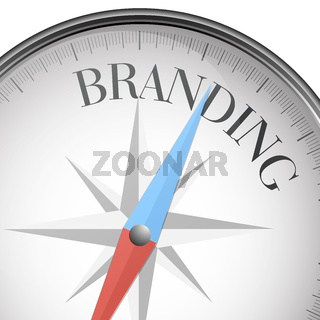 compass branding