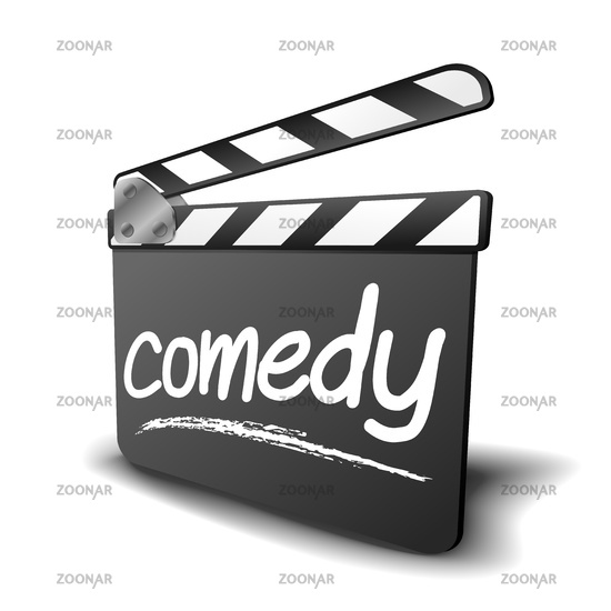 clapper board comedy
