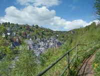Village of Monschau in the Eifel,Germany