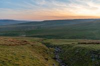 Buttertubs Pass between Thwaite and Simonstone, North Yorkshire, England