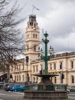 Burke and Wills Memorial Fountain - Ballarat