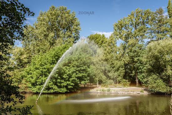 Park in Oberhausen, North Rhine-Westphalia, Germany