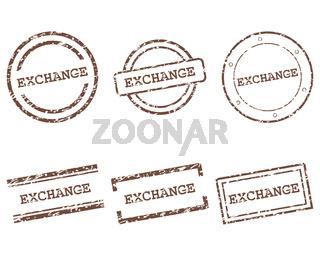 Exchange Stempel - Exchange stamps