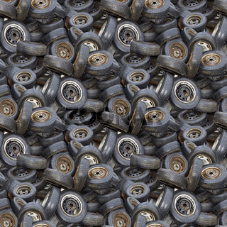 Old Tyres Texture