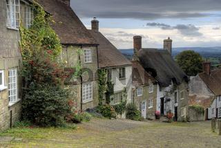 Gold Hill Dorset England