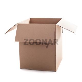 Craft box isolated