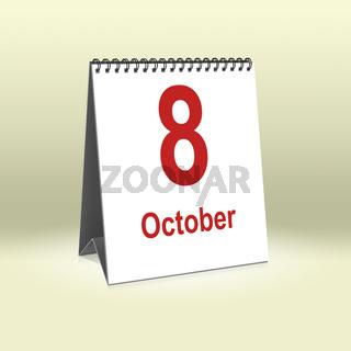 October 8th   8.Oktober