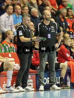 Co Trainer, Arjan Haenen, Cheftrainer, Heiko Grimm, MT Melsungen, Liqui Moly HBL, Handball-Bundesliga Saison 2019-20
