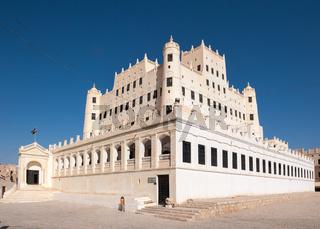 Sultan Al Kathiri palace in Seiyun, Yemen