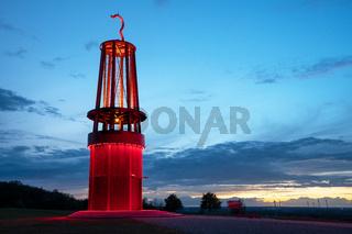 Landmark Mine Lamp, Moers, Germany