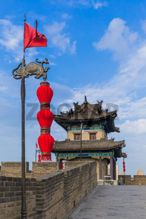 North wall of old town - Xian China