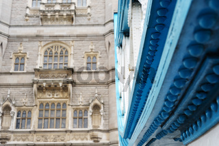 Tower Bridge in London Detail