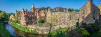Panorama Of The Dean Village In Edinburgh