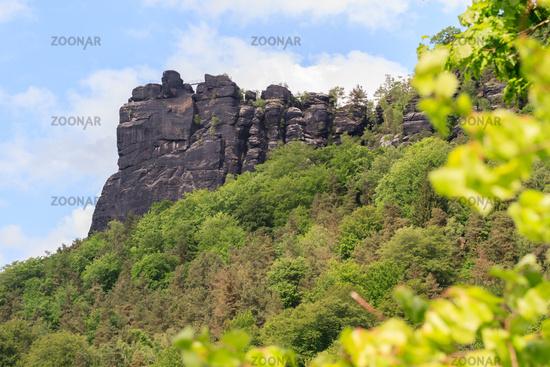 Lilienstein close to Bad Schandau