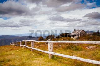 Craigs Hut in Victoria Australia