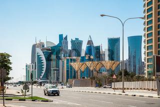 Road to Doha city center