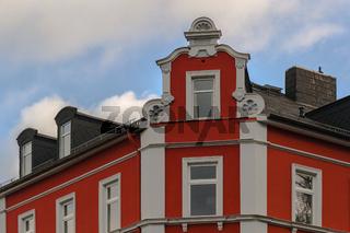 Dachfassade