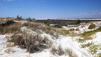 white dune sand scenery western Australia