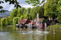 Tivoli Gardens in Copenhagen, Denmark