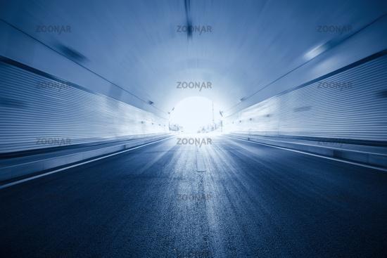 tunnel motion blur background