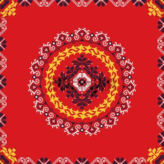 Romanian traditional pattern 192