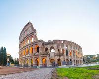 The Colosseum or Flavian Amphitheatre in Rome