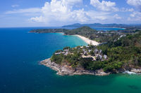 Surin tropical beach in Phuket,  Thailand