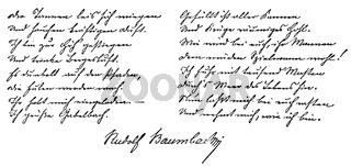 Rudolf Baumbach, 1840 - 1905, German poet