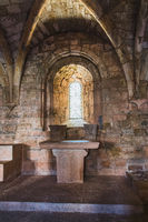 Altar of the Thonoret abbey in the Var