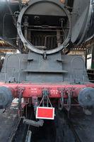 Boiler of a steam locomotive