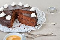 Viennese cocoa cake