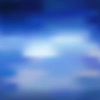 Vibrant blurred sea, sky clouds vector background