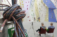 Climbing, climbing hall,
